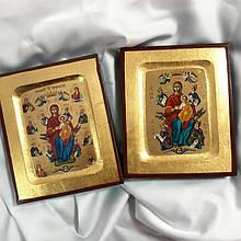 """Ікона Пресвятої Богородиці """"Всецариця"""" 13х10.5см (Греція)"""