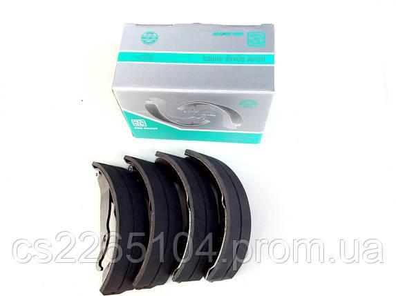 Тормозные колодки задние Ланос DBB, фото 2