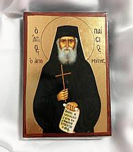 Ікона Святого Паїсія Святогорца 6.5х9.5см (Греція)