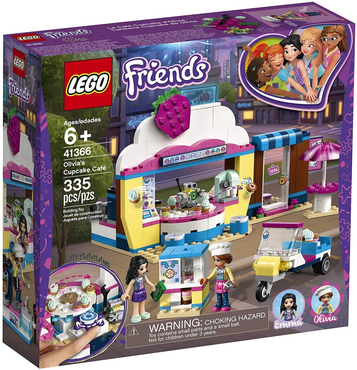 Конструктор LEGO Friends 41366 Кондитерская с кексами Оливии