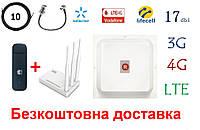 Полный комплект Huawei E3372h +Netis MW5230+ MiMo антенной 2×17 dbi под Киевстар, Vodafone, Lifecell