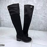 Ботфорты Деми черные 250, фото 4