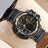 Практичные спортивные наручные часы Casio GW-A1100 Black/Gold 6083
