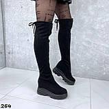 Ботфорты Деми черные 264, фото 5