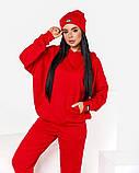 Спортивний костюм жіночий з шапкою 50-640, фото 7