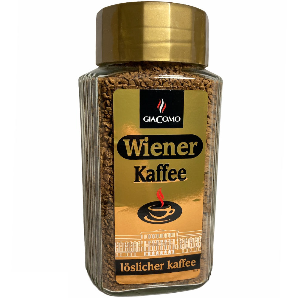 Кофе растворимый GiaComo Wiener Kaffee - 200 грамм.