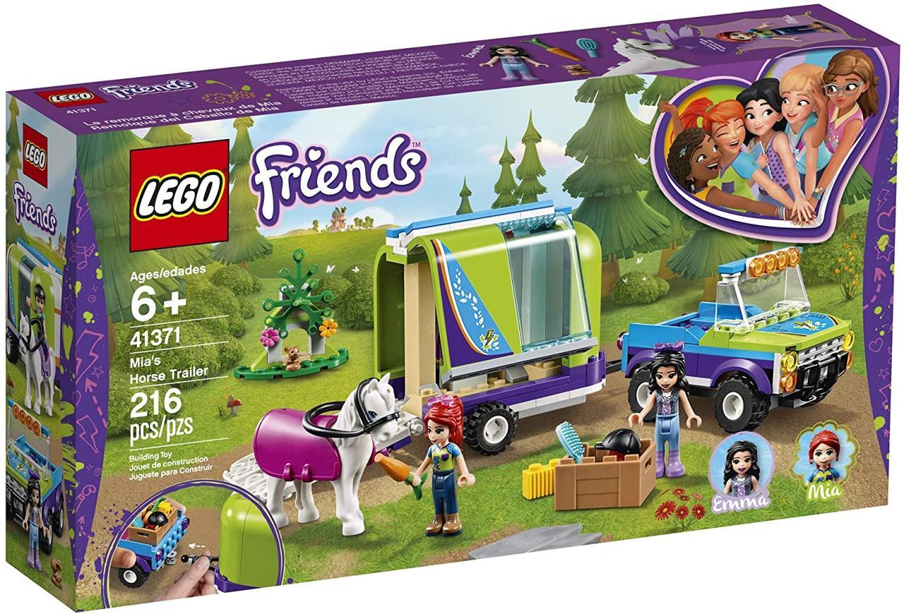 Конструктор LEGO Friends 41371 Трейлер для лошадки Мии