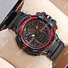 Яркие спортивные наручные часы Casio GW-A1100 Black/Red 6084