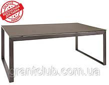 Стол журнальный BRIGHTON R стекло мокко (120х65х45 см) Nicolas (бесплатная доставка)