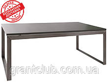 Стіл журнальний BRIGHTON R графіт МДФ (120х65х45 см) Nicolas (безкоштовна доставка)