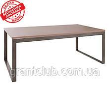 Стіл журнальний BRIGHTON R мокко МДФ (120х65х45 см) Nicolas (безкоштовна доставка)