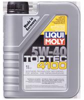Моторное масло синтетика LIQUI MOLY 5W-40 1L Top Tec 4100 для Volkswagen , Mercedes-Benz , BMW , Fiat ,Renault