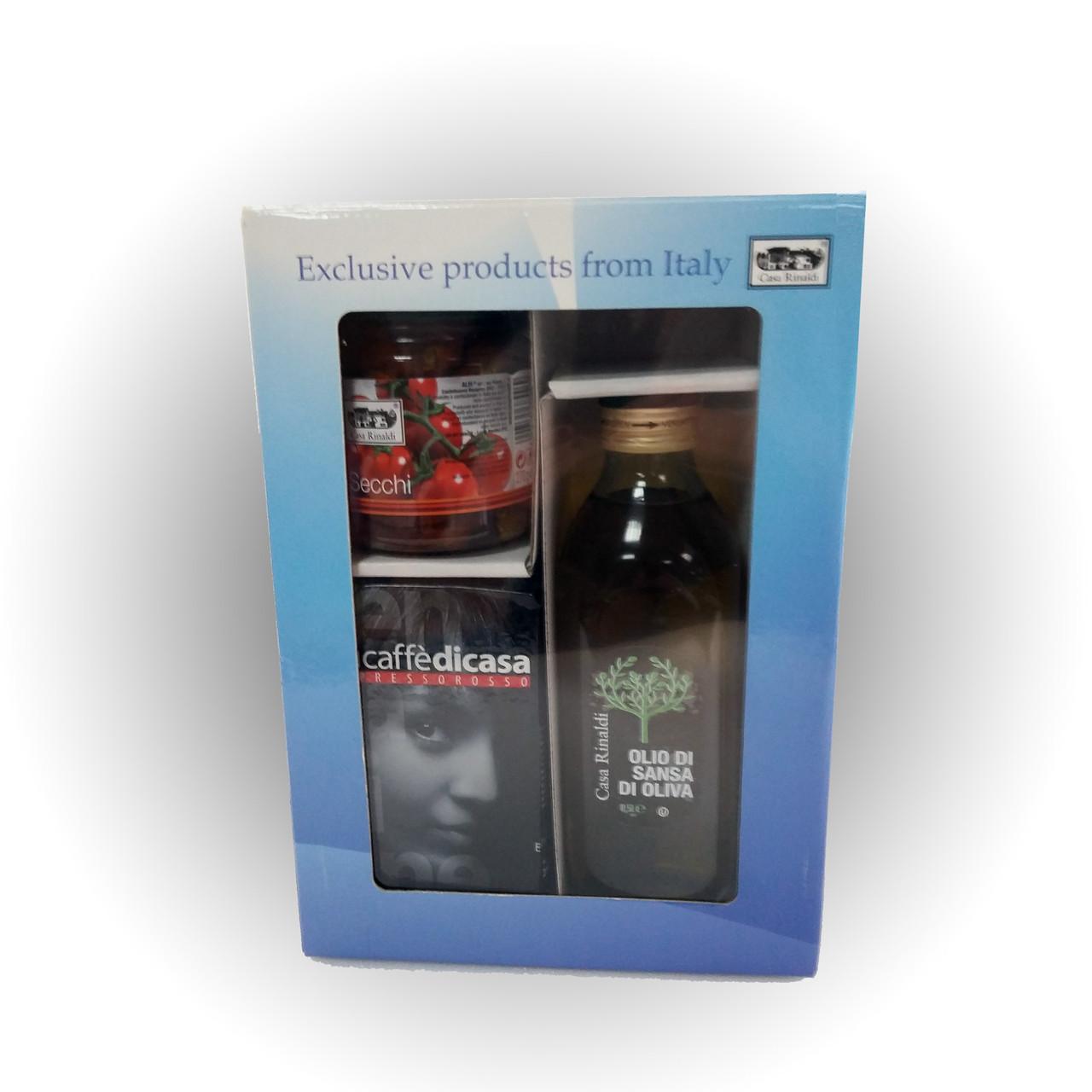 Подарочный набор Casa Rinaldi с продуктами Prendo questo  - Casa Rinaldi - продукты итальянского фермерства в Киеве
