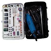Гравер Kraissmann 175 SGW 180 (кейс-чемодан, гибкий вал, стойка, 180 насадок)