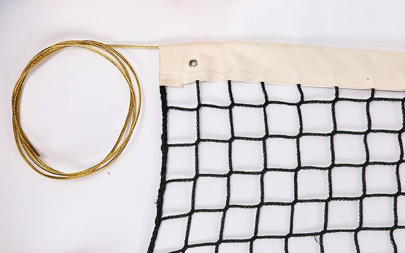 Сітка для великого тенісу безузловая 12,8 х 1,08 м З-0049
