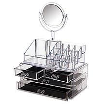 Органайзер для косметики с Зеркалом, фото 2