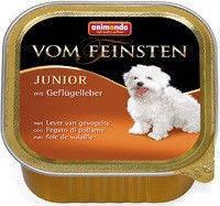 Паштет Animonda Vom Feinsten Junior для щенков с птицей и печенью индейки, 150 грамм