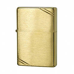 Запальничка ZIPPO Vintage Brushed Brass Gold (240)