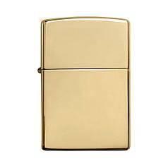 Запальничка ZIPPO Solid Brass Wo/Sb Gold (254B)