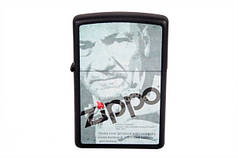 Запальничка Zippo LIGHTER 218 DEPOT ZIPPO BLACK MATTE (28300)