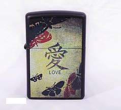 Запальничка Zippo LOVE BLACK MATTE (20839)