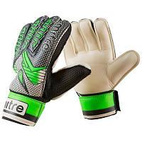 Перчатки футбольные Latex Foam MITRE зеленые GG-MT, 6, фото 1