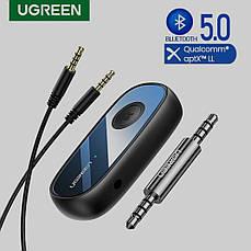 Bluetooth-адаптер Ugreen CM279 Bluetooth 5.0 приемник адаптер 3.5мм с микрофоном, с Aptx, фото 2