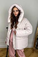 """куртку женскую Modus """" Овертайм """" теплый пуховик из плащевой ткани 10243, фото 1"""