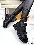 Ботинки Деми черные 29463, фото 3