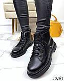 Ботинки Деми черные 29463, фото 4