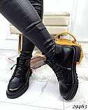 Ботинки Деми черные 29463, фото 7