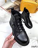 Ботинки Деми черные 29463, фото 8