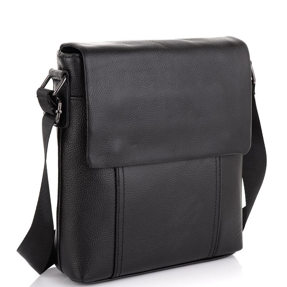 Шкіряна сумка-месенджер Tiding Bag NM20-8153A