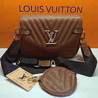 Сумка жіноча Louis Vuitton Луї Віттон, фото 1