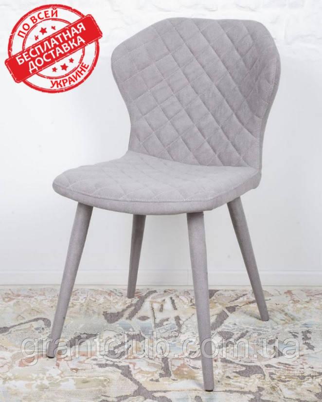 Обеденный стул VALENCIA (Валенсия) серый Nicolas (бесплатная доставка)