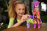 Лялька Роралея і тигреня Ферелл Печерний клуб 25 см Cave Club Roaralai Doll Mattel, фото 4