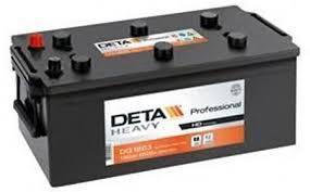 Аккумулятор грузовой DETA HEAVY Professional 6СТ-225Ач  1250A Германия
