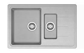 Кухонная мойка AQUAMARIN BDS 78-50 GR Серый