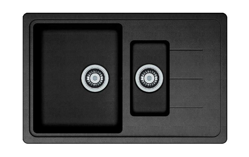 Кухонная мойка AQUAMARIN BDS 78-50 ONX Черный