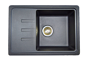 Кухонная мойка AQUAMARIN DZL 62-43 ONX Черный