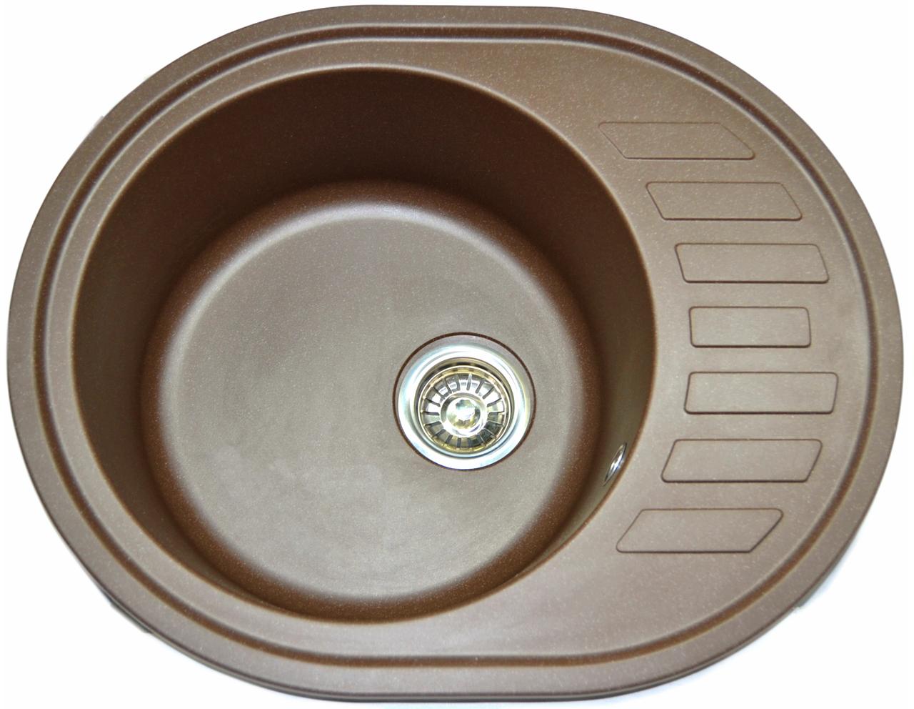 Кухонная мойка AQUAMARIN ARD 62-50  BRN Коричневый