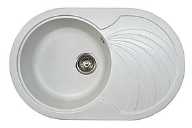 Кухонная мойка AQUAMARIN AQR 78-50  WH Белый