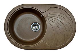 Кухонная мойка AQUAMARIN AQR 78-50  BRN Коричневый