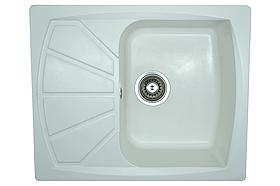Кухонная мойка AQUAMARIN BGM 61-50 WH Белый