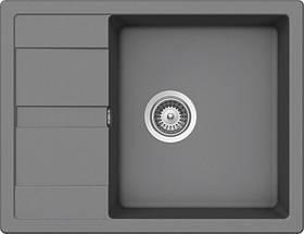 Кухонная мойка AQUAMARIN DHM 65-50 GR Серый