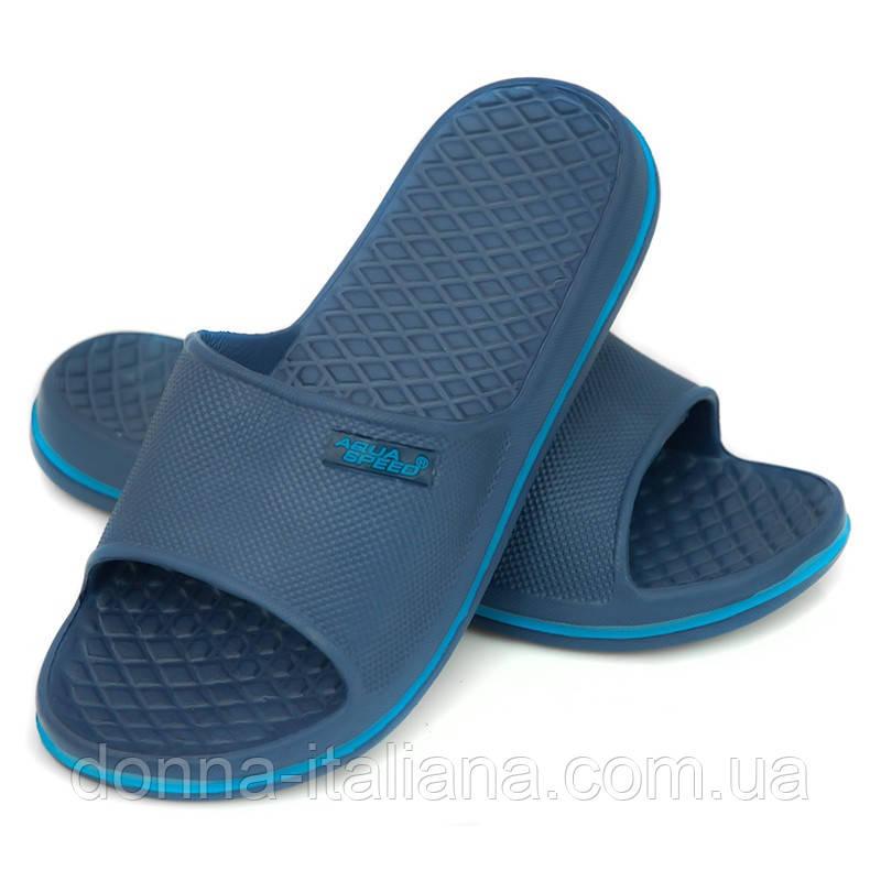 Дитячі пляжні шльопанці Aqua Speed Cordoba 30 Темно-сині (aqs139)
