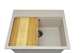 Кухонная мойка AQUAMARIN BOX 56-50 SND Песочный