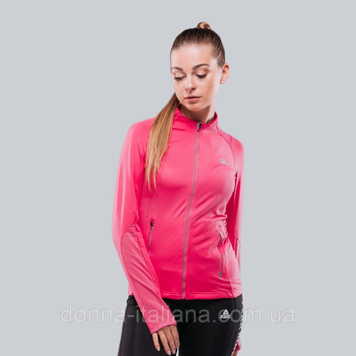 Женская спортивная кофта Peak FW67024-PIN M Розовая (6956251121343)