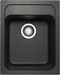 Кухонная мойка AQUAMARIN PIAZZA 500-40 NERO Черный (без вкраплений)