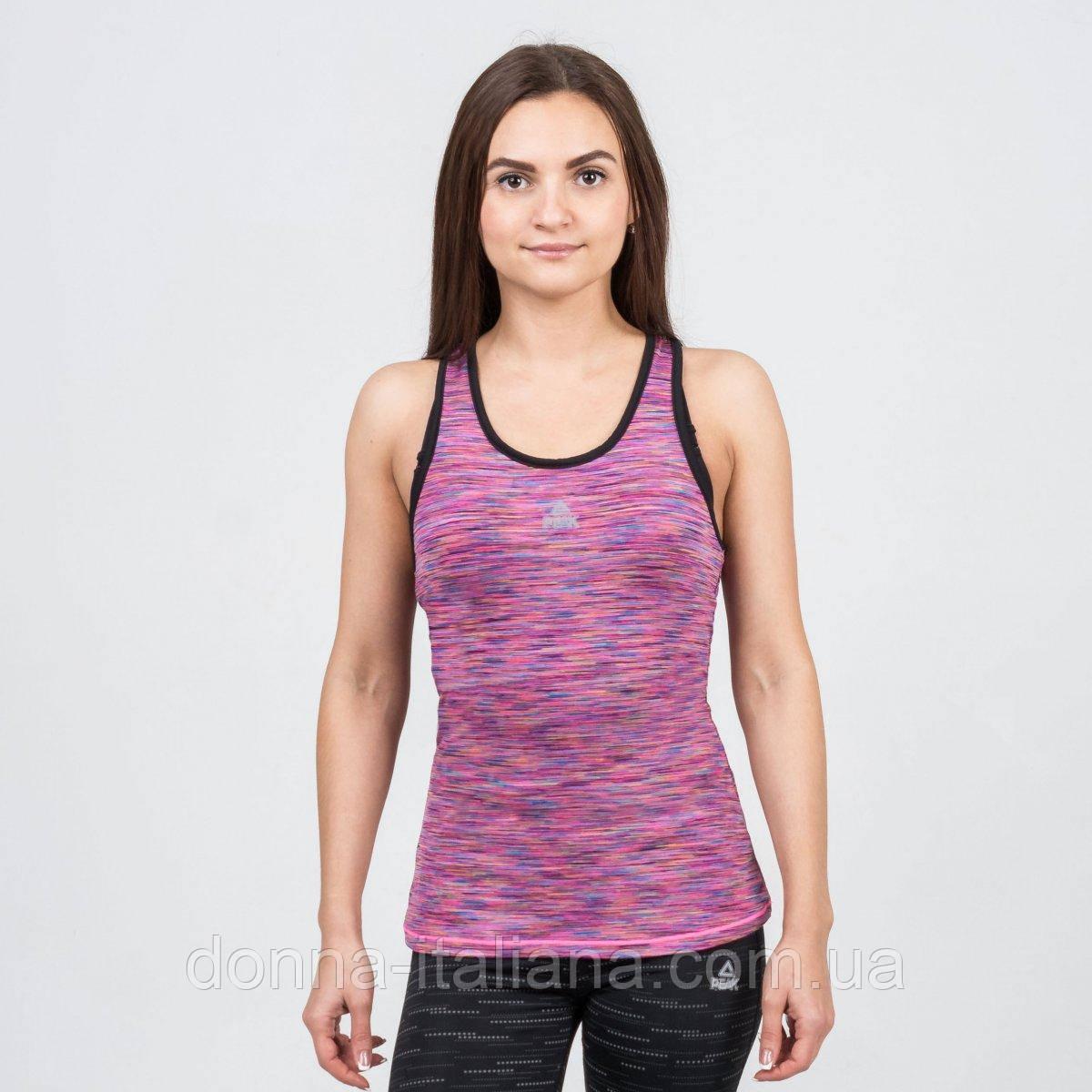 Майка фитнес женская Peak Sport FW67626-PIN S Розовая (2000124807019)